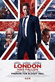 Morgan Freeman, Angela Bassett, Aaron Eckhart, and Gerard Butler in London Has Fallen (2016)