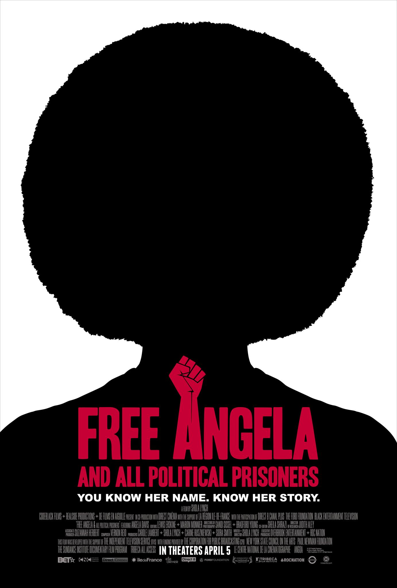 free angela davis and all political prisoners