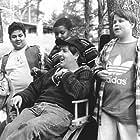 Steven Brill, Michelle Holdsworth, Aaron Schwartz, Kenan Thompson, and Shaun Weiss in Heavyweights (1995)