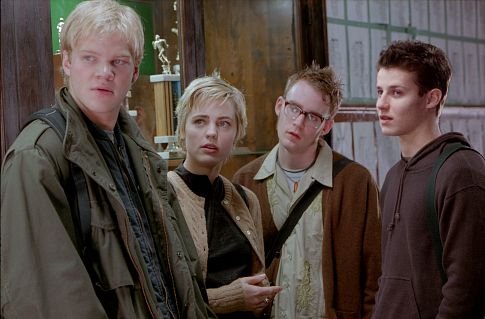 Kevin Christy, Will Estes, Melissa George, and Blake Shields in New Port South (2001)