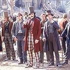Leonardo DiCaprio, Daniel Day-Lewis, Liam Carney, David McBlain, and Gary McCormack in Gangs of New York (2002)