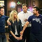Rob McElhenney, Kaitlin Olson, Glenn Howerton, and Andy Buckley in It's Always Sunny in Philadelphia (2005)