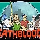 Tess DePretis, Len LoFrisco, Ilya Leshinsky, Morgan Finley King, Thali Zara, Shawn Amaro, and Zach Beckman in Death Blood 4: Revenge of the Killer Nano-Robotic Blood Virus (2019)
