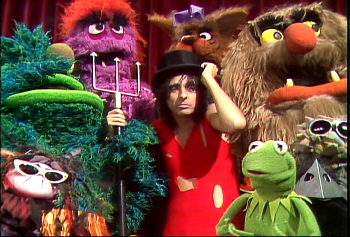 Image result for the muppets, alice cooper