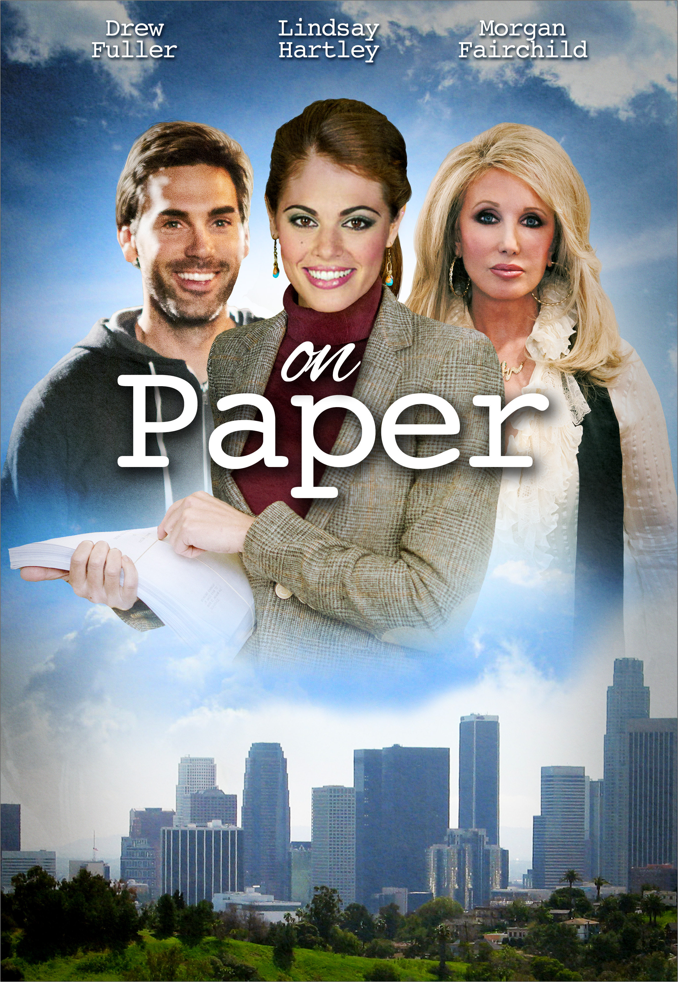Morgan Fairchild, Lindsay Hartley, and Drew Fuller in Perfect on Paper (2014)