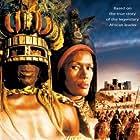 Grace Jones and Henry Cele in Shaka Zulu: The Citadel (2001)