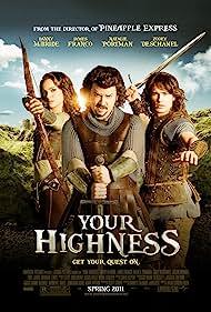 Natalie Portman, James Franco, and Danny McBride in Your Highness (2011)