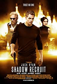 Kenneth Branagh, Kevin Costner, Keira Knightley, and Chris Pine in Jack Ryan: Shadow Recruit (2014)