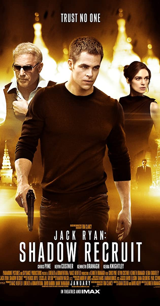 Subtitle of Jack Ryan: Shadow Recruit