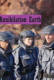 Luke Goss, Serah Henesey, and Louise Cliffe in Annihilation Earth (2009)