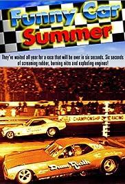 Funny Car Summer Poster