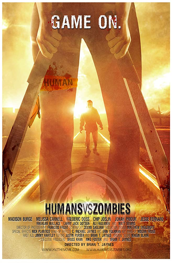 Humans Versus Zombies 2011 English 300MB BluRay Download