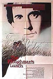 The Ploughman's Lunch (1983) Poster - Movie Forum, Cast, Reviews