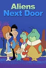 Aliens Next Door Poster