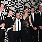 Julianne Moore, Sarah Paulson, Jay Roach, Danny Strong, and John Heilemann at an event for Game Change (2012)