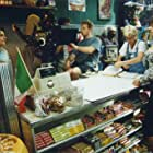 On the set of The Deli with Brian Vincent and Lorri Bagley.