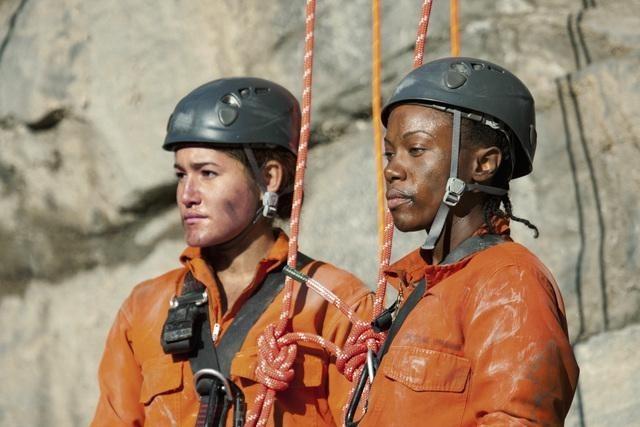 Q'orianka Kilcher and DeWanda Wise in Firelight (2012)