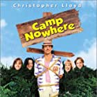 Christopher Lloyd, Jonathan Jackson, Andrew Keegan, Marnette Patterson, and Melody Kay in Camp Nowhere (1994)
