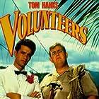 Tom Hanks and John Candy in Volunteers (1985)