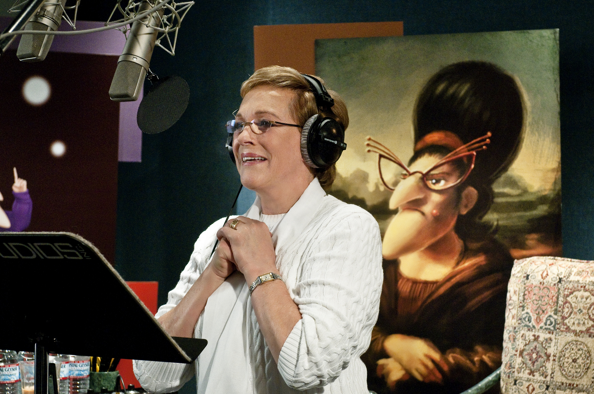 Julie Andrews in Despicable Me (2010)