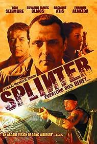 Edward James Olmos, Tom Sizemore, Resmine Atis, and Hector Atreyu Ruiz in Splinter (2006)