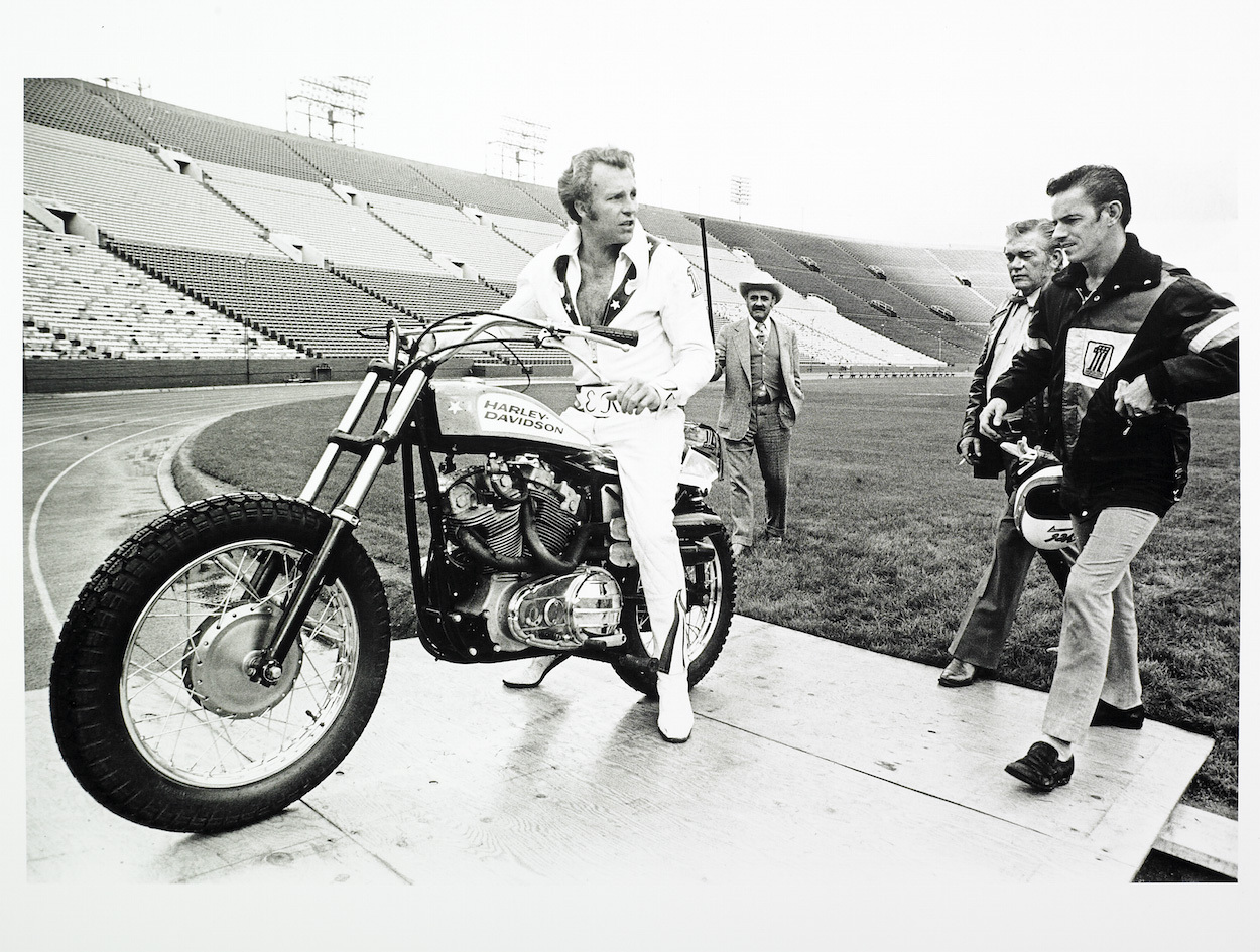 Evel Knievel in Being Evel (2015)