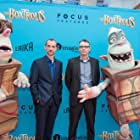 Graham Annable and Anthony Stacchi at an event for The Boxtrolls (2014)