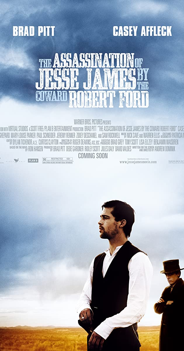 Subtitle of The Assassination of Jesse James by the Coward Robert Ford