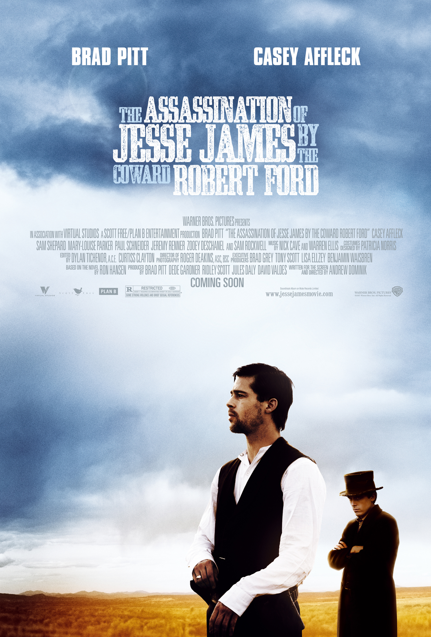 The Assassination of Jesse James by the Coward Robert Ford (2007) BluRay 720p & 1080p