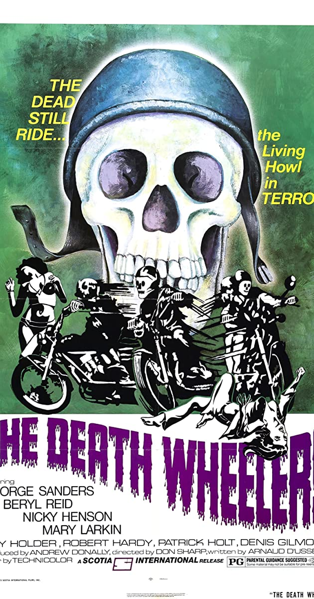 Subtitle of The Death Wheelers