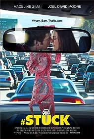 Joel David Moore and Madeline Zima in #Stuck (2014)