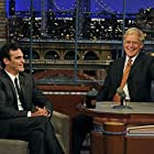 David Letterman and Joaquin Phoenix in Late Show with David Letterman (1993)