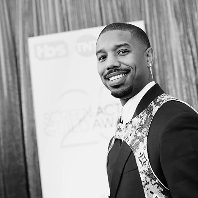 Michael B. Jordan at an event for The 25th Annual Screen Actors Guild Awards (2019)