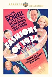 Fashions of 1934 (1934) Poster - Movie Forum, Cast, Reviews