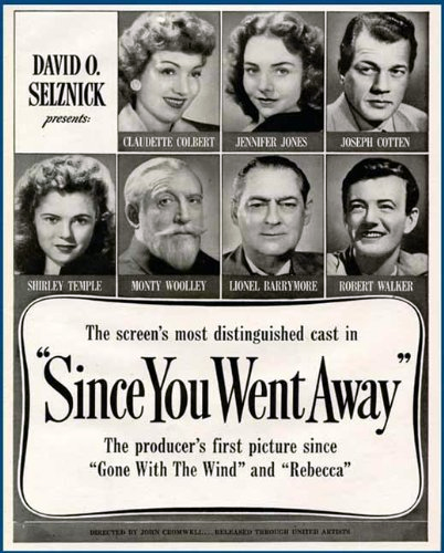 Image result for since you went away 1944