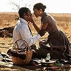 Idris Elba and Naomie Harris in Mandela: Long Walk to Freedom (2013)