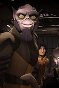 Freddie Prinze Jr., Steve Blum, Vanessa Marshall, Tiya Sircar, and Taylor Gray in Star Wars: Rebels (2014)