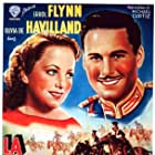 Olivia de Havilland and Errol Flynn in The Charge of the Light Brigade (1936)