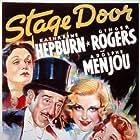 Katharine Hepburn, Ginger Rogers, Adolphe Menjou, and Gail Patrick in Stage Door (1937)