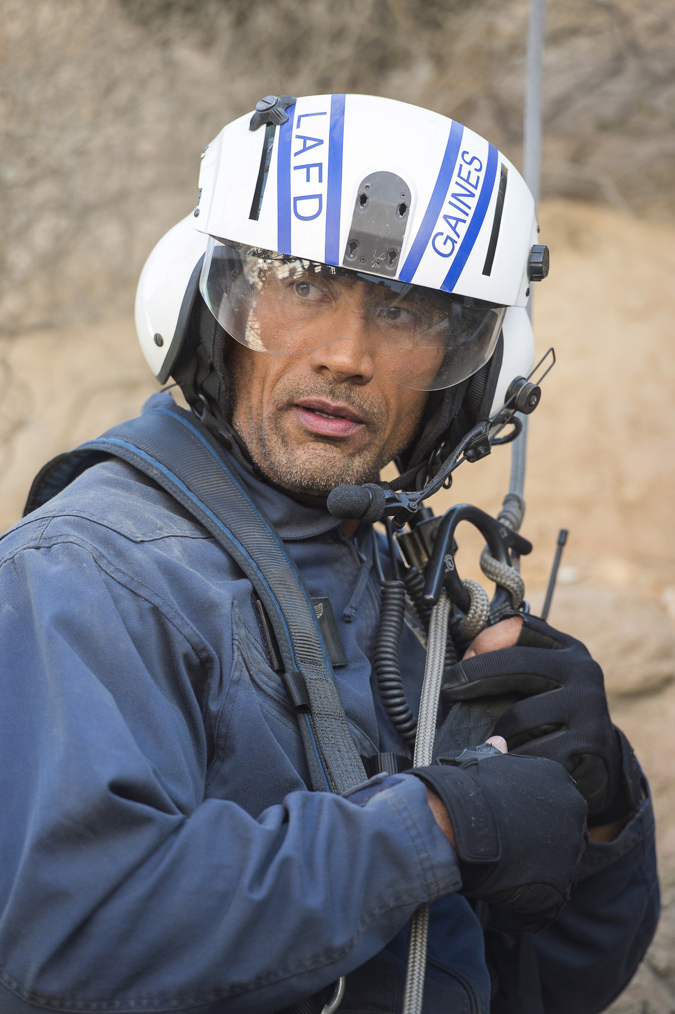 Dwayne Johnson in San Andreas (2015)