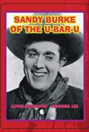 Sandy Burke of the U-Bar-U Poster