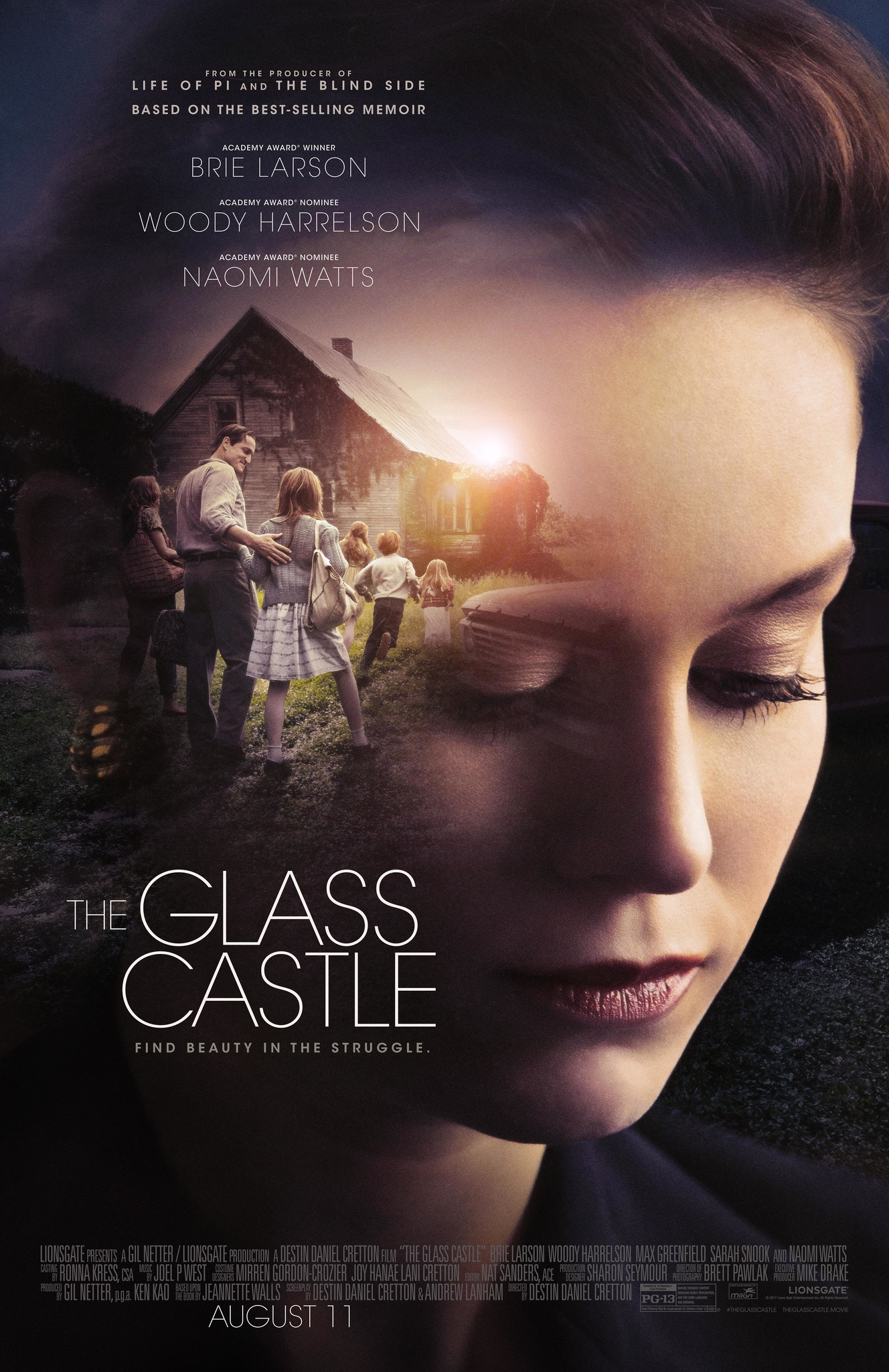 The Glass Castle (2017) BluRay 480p, 720p & 1080p
