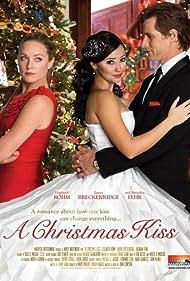 Laura Breckenridge, Brendan Fehr, and Elisabeth Röhm in A Christmas Kiss (2011)