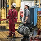 Mark Wahlberg and Dylan O'Brien in Deepwater Horizon (2016)