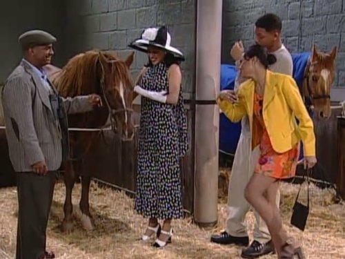 El Principe de Bel Air 6×20 – Yo, apestoso caballo