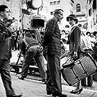 Anouk Aimée and Jacques Becker in Les amants de Montparnasse (1958)