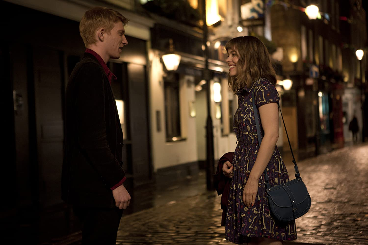 Rachel McAdams and Domhnall Gleeson in About Time (2013)