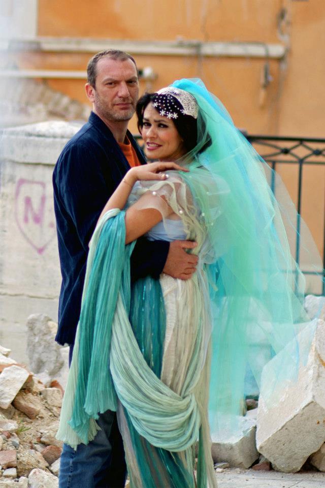 Maria Grazia Cucinotta and Massimo Lello in La tana del bianconiglio (2012)
