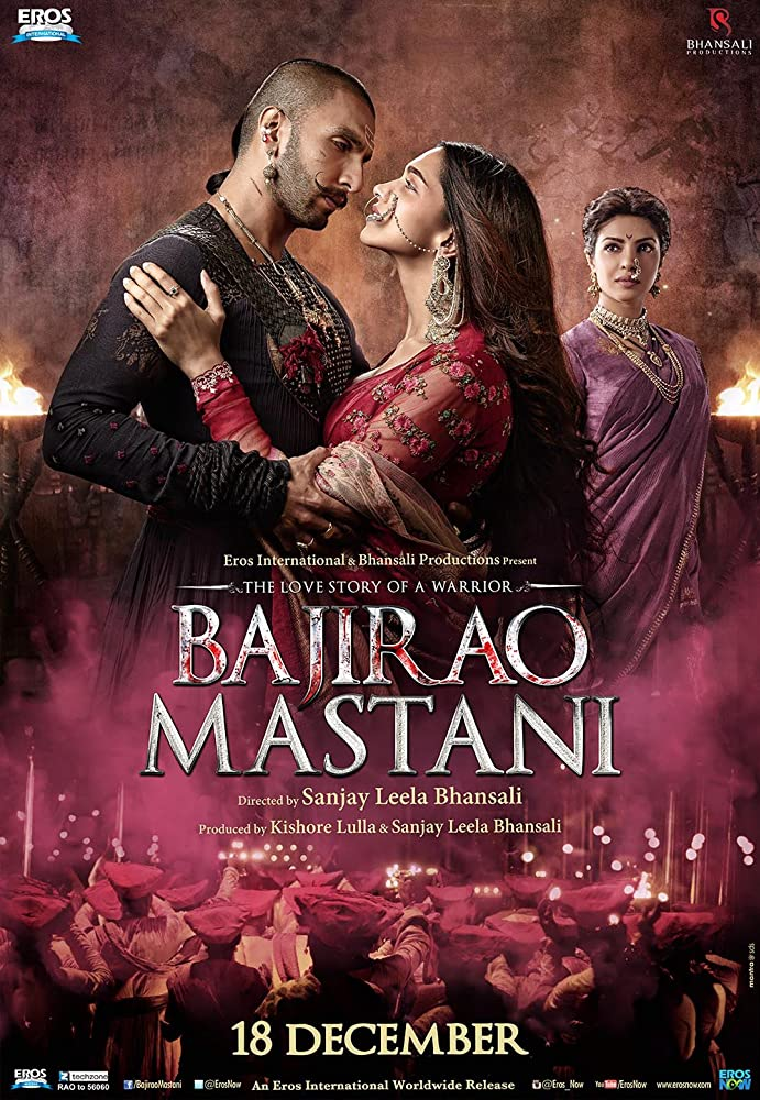 Bajirao Mastani 2015 Hindi 550MB BluRay Download