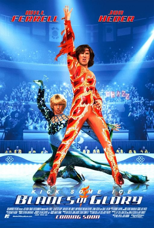 Blades of Glory 2007 Hindi Dual Audio 720p BluRay 750MB Download
